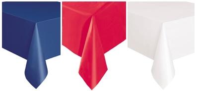 nappe tricolore d coration et accessoires pas cher pour organiser une soir e th me. Black Bedroom Furniture Sets. Home Design Ideas