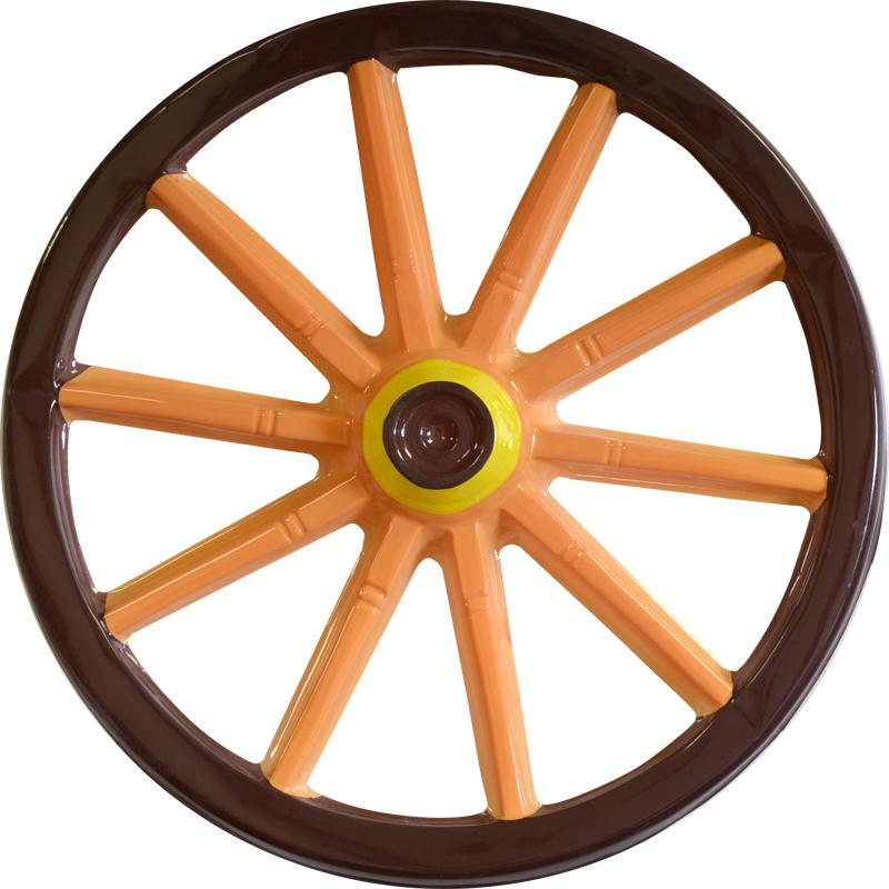 roue chariot 48cm d coration et accessoires pas cher. Black Bedroom Furniture Sets. Home Design Ideas