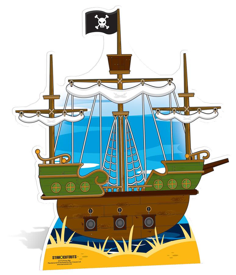 Bateau de pirate en carton g ant - Image bateau pirate ...