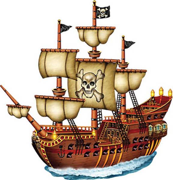Deco Navire Pirate
