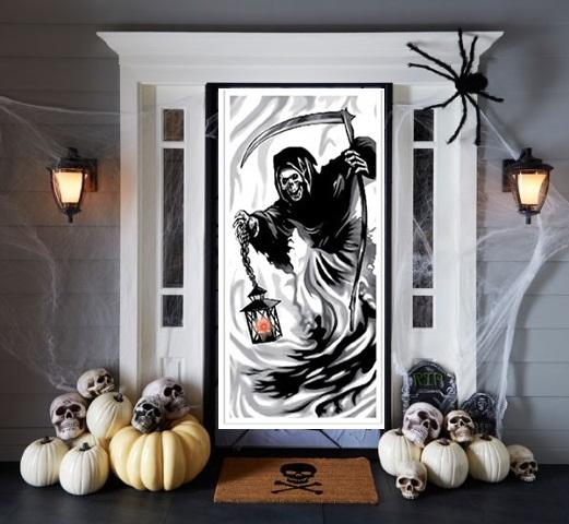 decoration de porte lumineuse la mort 1er prix d coration et accessoires pas cher pour. Black Bedroom Furniture Sets. Home Design Ideas