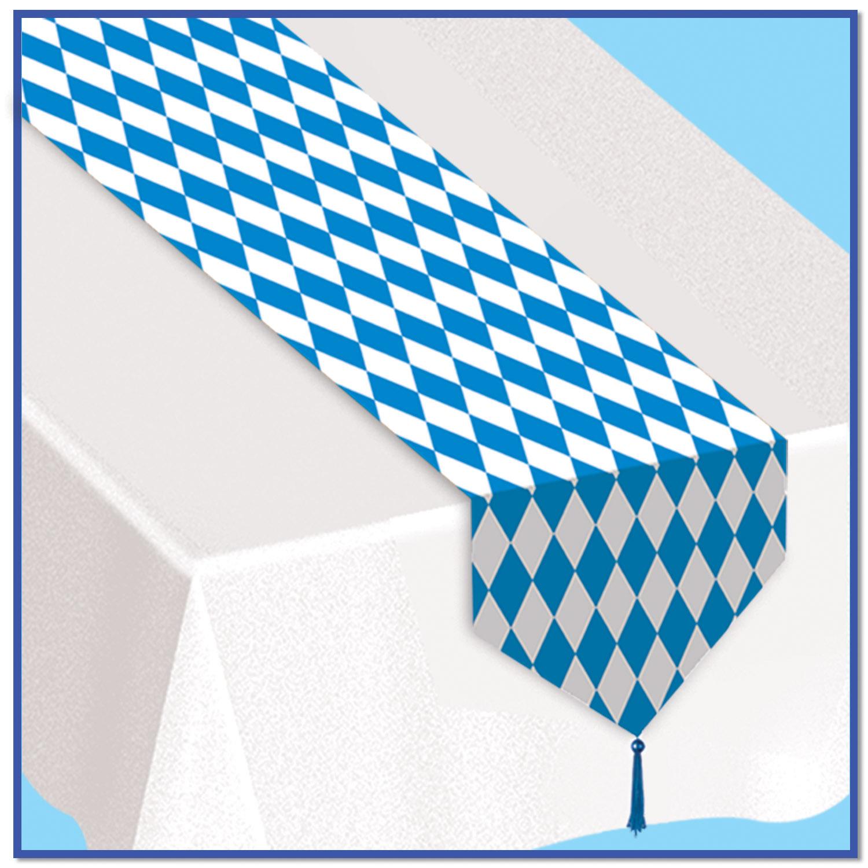 nappe blanche et son chemin de table d coration et accessoires pas cher pour organiser une. Black Bedroom Furniture Sets. Home Design Ideas