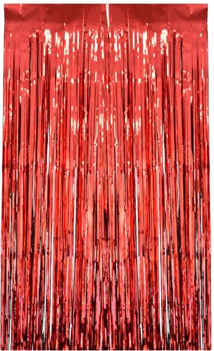 rideau lamelle rouge d coration et accessoires pas cher pour organiser une soir e th me. Black Bedroom Furniture Sets. Home Design Ideas