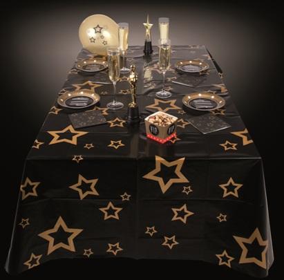 nappe etoile vip hollywood cinema d coration et accessoires pas cher pour organiser une soir e. Black Bedroom Furniture Sets. Home Design Ideas